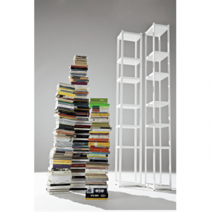 wood bookcase by horm italian design