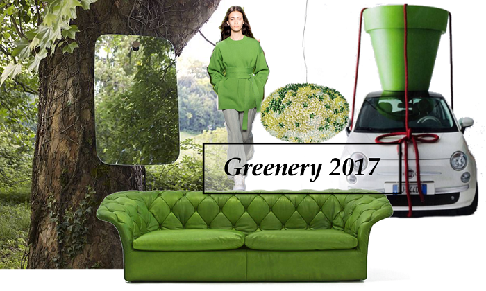 greenery colour of the year 2017