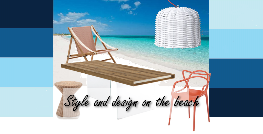 style and design on the beach