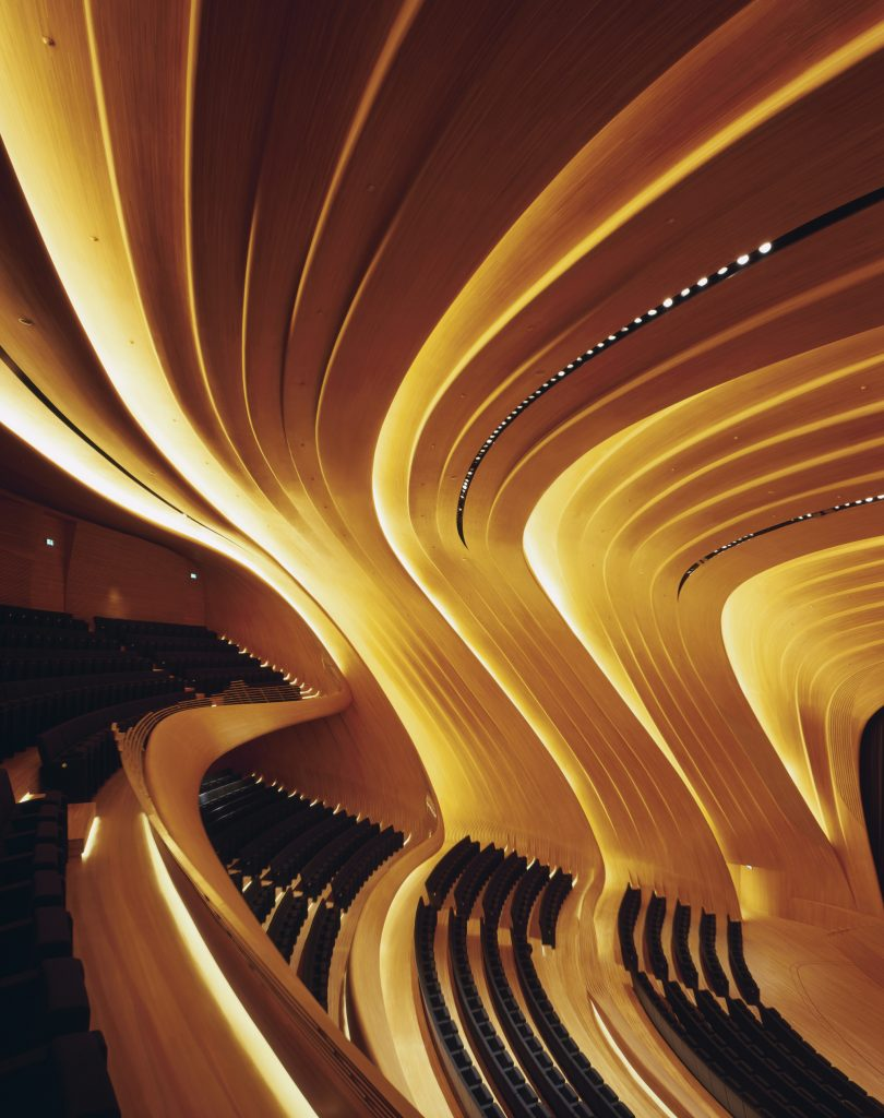 heydar aliyev center by Zaha Adis