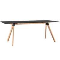 Butch black table magis