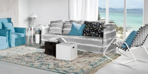 Gervasoni Ghost sofa with removable cover