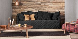 Gervasoni Ghost 12 sofa with removable fabric