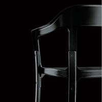steelwood magis black chair