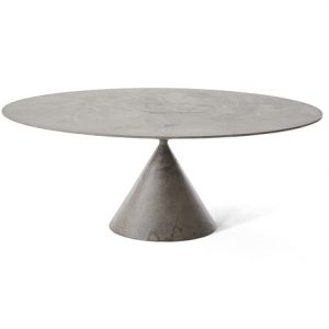 oval table clay desalto