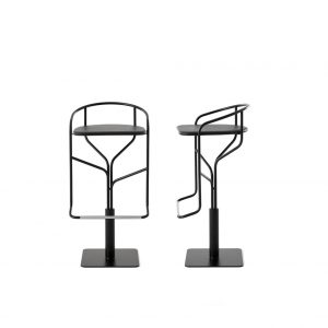 ike stool desalto black version