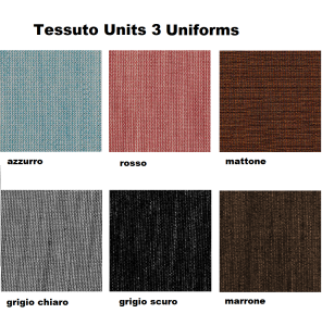 tessuto Units 3 uniforms cat W