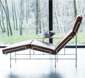 traffic chaise longue leather