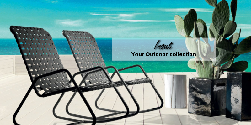inout gervasoni outdoor design collection
