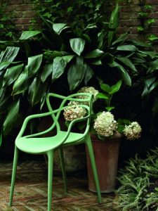 sedia kartell outdoor colorata